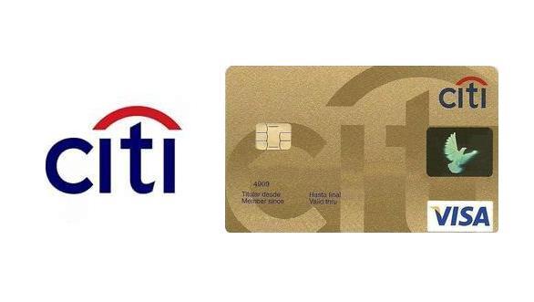 Tarjeta Citibank VISA Oro