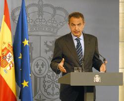 presidente zapatero anuncio medidas contra crisis