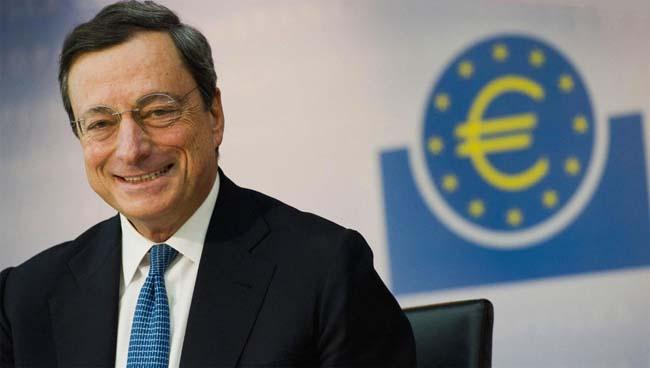 mario draghi bce zona euro